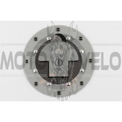Наклейка на крышку бака FUEL (13х13см) (#4481)