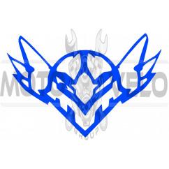 Наклейка декор FALCON (13х10см, синяя)