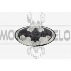 Наклейка   логотип   BATMAN   (9,5x7см, силикон)   (#SEA)
