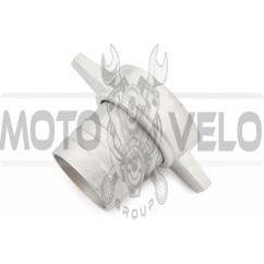 Переходник мотопомпы с фланца на шланг 2 (алюминиевый)