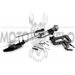 Насадка на мотокосу (подвесной лодочный руль с винтом, 9T, D-26mm)