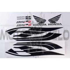Наклейки (набор) Honda (56x14см) (#newB)