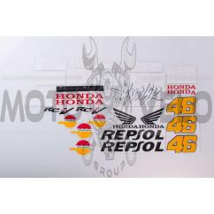 Наклейки (набор) Honda REPSOL (#40)