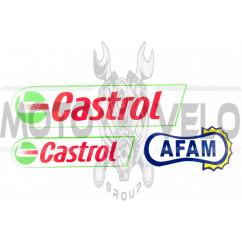 Наклейки (набор) CASTROL (#14)