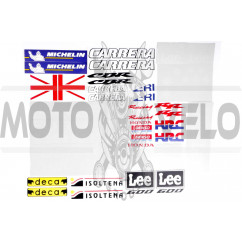 Наклейки (набор) BRITAIN RACING (#7211)