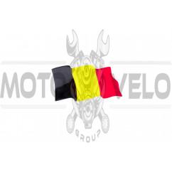 Наклейка (10x4.5см) (#5168) BELGIUM