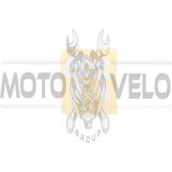Наклейка декор SKELETON (11х10м, серебро) (#HQ684)