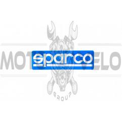 Наклейка логотип SPARCO (13x14см) (#4515)
