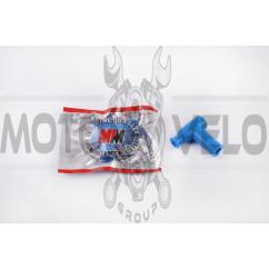 Насвечник 90*, Т- образный (синий) DM