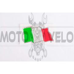 Наклейка шильдик ITALY (9x4.5см) (#0745D)