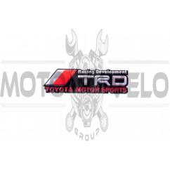 Наклейка шильдик TRD (11x3см) (#1670)