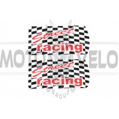 Наклейка декор STREET RACING (6х3см) (#SEA)