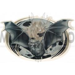 Наклейка декор BAT (24х34см) (#SEA2)