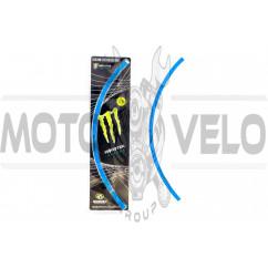 Наклейка на колесо 18 MONSTER ENERGY (синяя,светоотражающая) GJCT