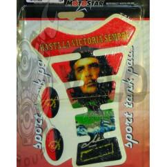 Наклейка на бак   FISH Che Guevara (резиновая, декор, красная)