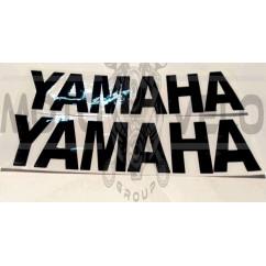 Наклейка   буквы   YAMAHA   (22х6см, 2шт, черные)   (#HCT10005)