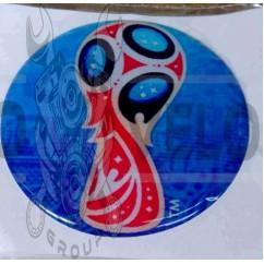 Наклейка   FIFA 2018 WORLD CUP   (7x6см, силикон)   (#SEA)