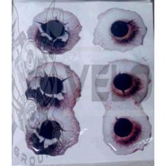 Наклейка   декор   Hole   (8х6см, силикон)   (#SEA)