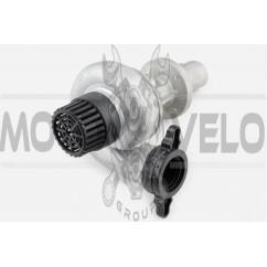 Насадка на мотокосу   (водяная помпа, 9T, D-26mm, 1 труба)   EVO