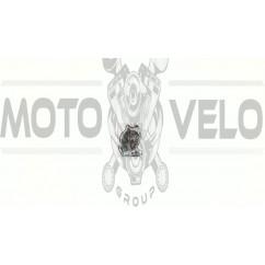 Наклейка   декор   WOLF   (8х6см) (силикон)   (#SEA)