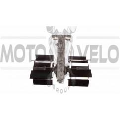 Насадка на мотокосу   (культиватор,лезвия, 9T, D-26mm, mod 1)