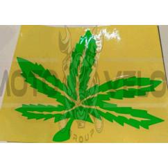 Наклейка   декор   GREEN   (14х16см, зеленая)   (#0426)