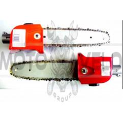 Насадка на мотокосу   (кронорез, 7T, D-28mm, шина 12)   WOODMAN   (mod.A)