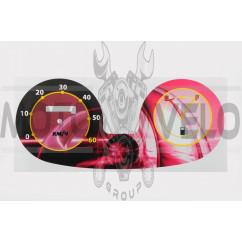 Наклейка на спидометр (60км/ч) (mod:5) E66