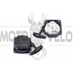 Стартер ручной (в сборе) мотокосы   (2 усика, круглый)   SVET