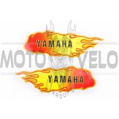 Наклейка декор, пламя YMH (19x5см) (#0332C)