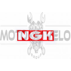 Наклейка логотип NG (11x4см) (#0532)