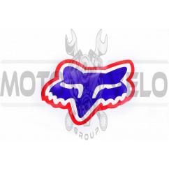 Наклейка логотип FOX (12x10см) (#4901)