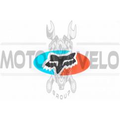 Наклейка логотип FOX (9x5см) (#4904)