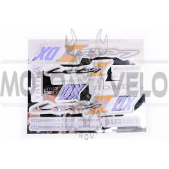 Наклейки (набор) Suzuki LETS 2 (21х15см, бонус накл. Honda) (#0111)