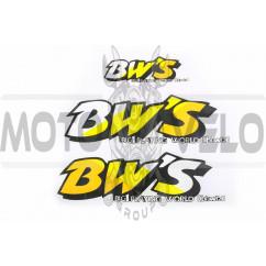 Наклейки (набор) Yamaha BWS (23х7см, 3шт) (#0624)