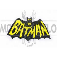 Наклейка логотип BATMAN (17x10см) (#5930)_