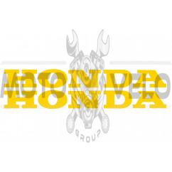 Наклейка буквы (mod:Honda 19х5см, 2шт, желтые) (#HCT10002)