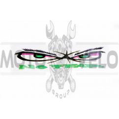 Наклейка логотип NO FEAR (40х10см) (#0503)