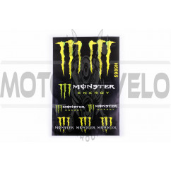 Наклейки (набор) спонсор MONSTER ENERGY (30х45см) (#5989H)