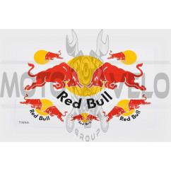 Наклейки (набор) спонсор RED BULL (27х17cм) (#7069A)