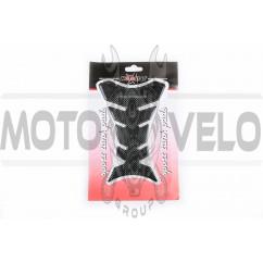 Наклейка на бак MOTOSTAR (силикон, карбон) (#5041)
