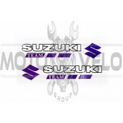 Наклейка логотип SZK (14x3см, 2шт) (#6001)