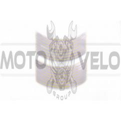 Наклейка на колесо 10 декор (16шт, серебристая) (#6054Ф)