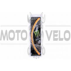 Наклейка на колесо 17 MONSTER ENERGY (оранжевая, светоотражающая) (#6061)