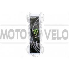 Наклейка на колесо 17 MONSTER ENERGY (черная) (#6061)