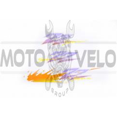 Наклейки (набор) Suzuki SEPIA ZZ (35х6см, 3шт, оранжевые) (#0654)