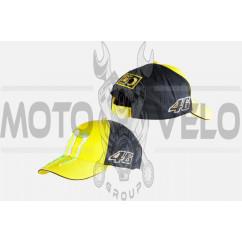 Бейсболка MONSTER ENERGY (желто-черная, 100% хлопок)