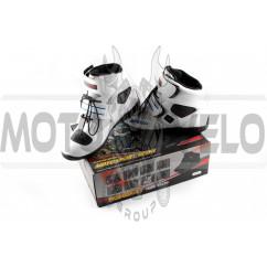 Ботинки PROBIKER (mod:A005, size:43, белые)