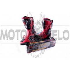 """Ботинки """"PROBIKER"""" (mod:1001, size:41, красные)"""
