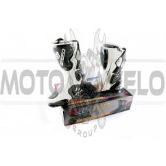 Ботинки PROBIKER (mod:1001, size:40, белые)